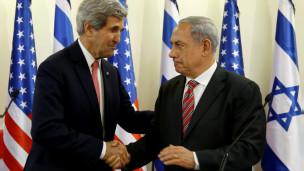 John Kerry da Benjamin Netanyahu