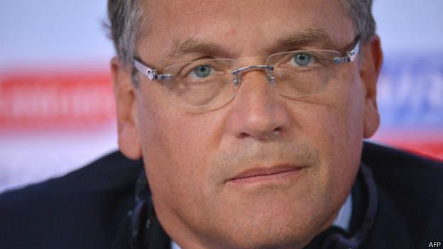 Jérôme Valcke, secretário-geral da Fifa | Foto: AFP