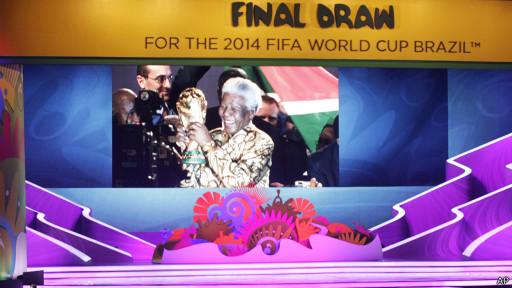 Escenario sorteo Mundial