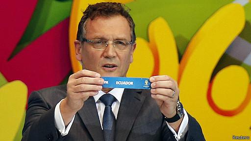 Jerome Valcke, secretario general de la FIFA