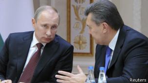 Putin y Yanukovych
