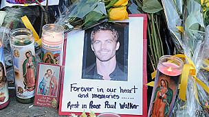 Recuerdan a Paul Walker en California