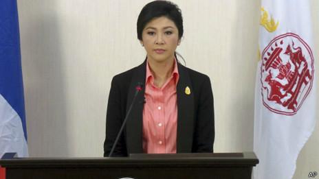 Thủ tướng Yingluck Shinawatra