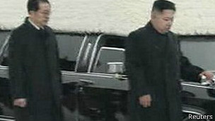 Chang Song-thaek y Kim Jong-un