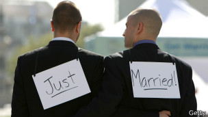 Same-sex marriage, Getty