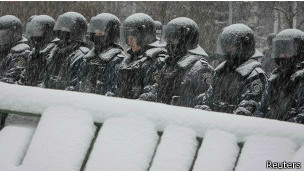 Спецназ на Майдане