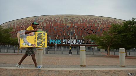 Estadio en Soweto