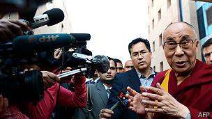 Dalai Lama, Nueva Delhi, India