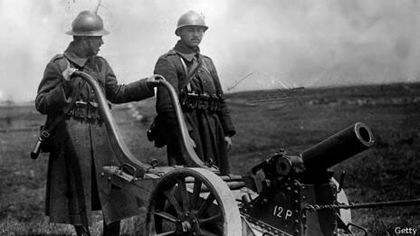 Imagen de archivo de la Primera Guerra Mundial