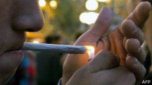 Сигарета с марихуаной