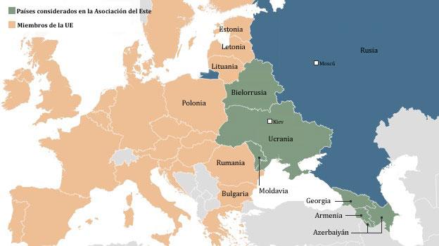 mapa europeo