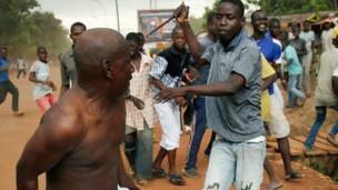 Violencia sectaria en la República Centroafricana