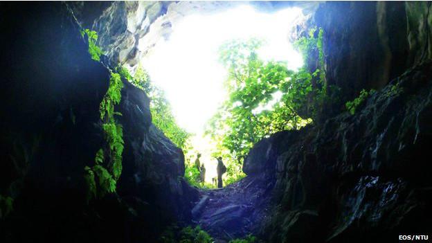 La cueva de Sumatra que revela los secretos de los tsunamis 131212122621_cueva_sumatra__624x351_eosntu_nocredit