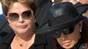 Rousseff y Fernández de Kirchner