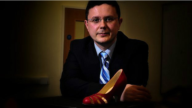 Giorgio Riello es investigdor en zapatos