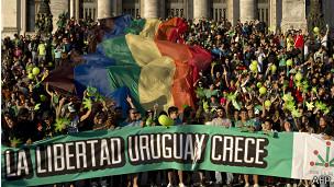 Marcha por la legalización de la marihuana en Montevideo, Uruguay