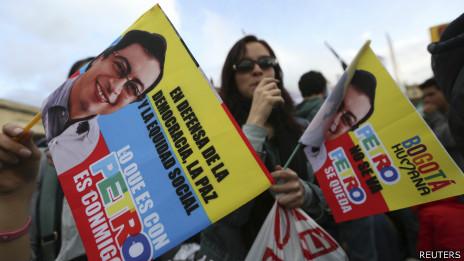 Marcha por el alcalde Bogotá, Gustavo Petro