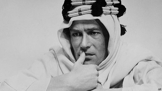 Peter O'Toole como Lawrence of Arabia