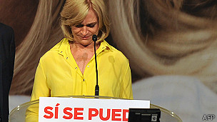 Evelyn Matthei. AFP