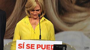 Evelyn Matthei. AFP