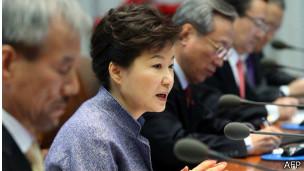 Presidenta de Corea del Sur