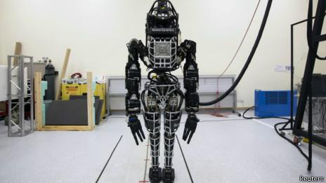 波士顿动力的阿特拉斯机器人在香港大学