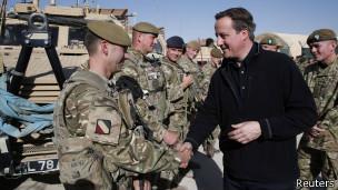 Дэвид Кэмерон в Афганистане