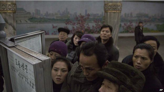 habitantes de Corea del Norte
