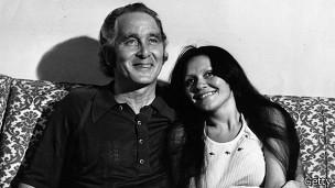 Ronnie Biggs y su esposa