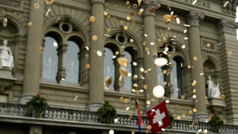 Campanha na Suíça (Reuters)