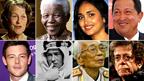 Imágenes de las figuras más célebres que murieron en 2013