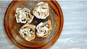 Pastelitos con masa de hojaldre