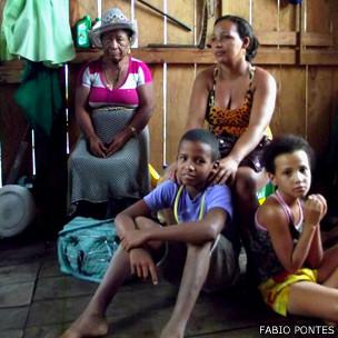 Família de agricultores. Foto: Fábio Pontes/ BBC Brasil