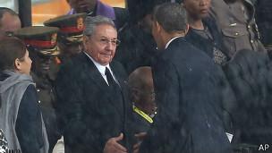 Castro e Obama | Foto: AP