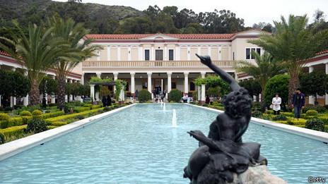 Villa Getty en California