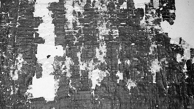 """Papiro de """"Sobre el buen rey"""""""