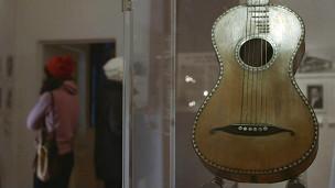Guitarra del museo Gruber