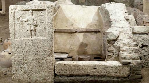 ancient roman cemetery