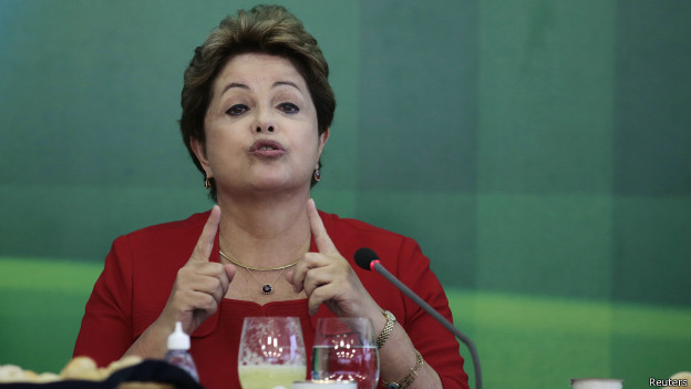 Dilma Rousseff, presidente do Brasil | Crédito: Reuters