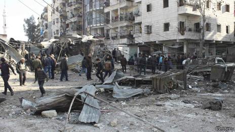 Авианалет в Сирии