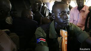 Soldado de Sudán del Sur