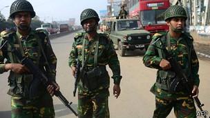 Bangladesh soldados