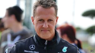 Michael Schumacher (Arquivo/PA)