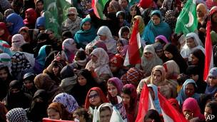 Protesta en Lahore