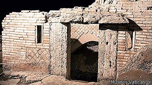 Ruinas de cementerio romano