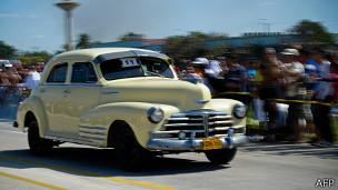 Auto antiguo en Cuba