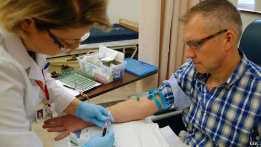 Питер Бауэс в клинике