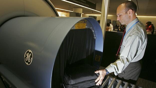 Seguridad en un aeropuerto
