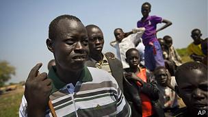 Desplazados de Sudán del Sur