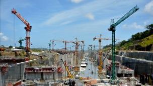 Ampliación del Canal de Panamá. Foto: AFP/Getty